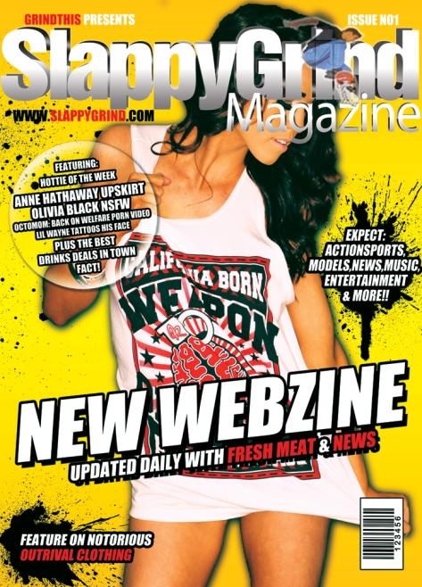 first webzine cover 2011
